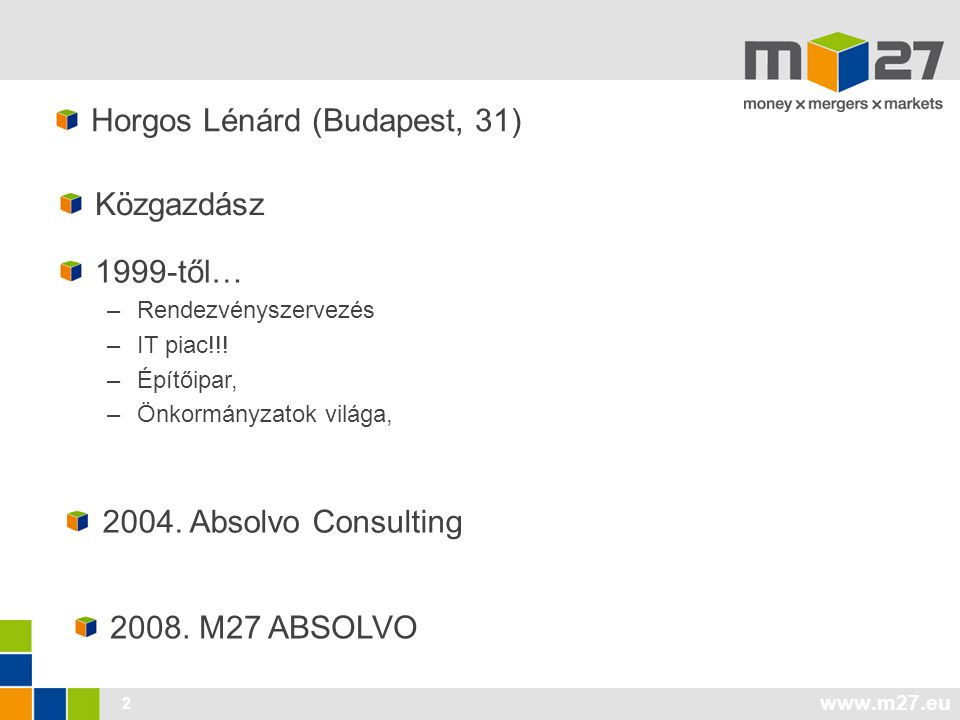 Horgos Lénárd (Budapest, 31)