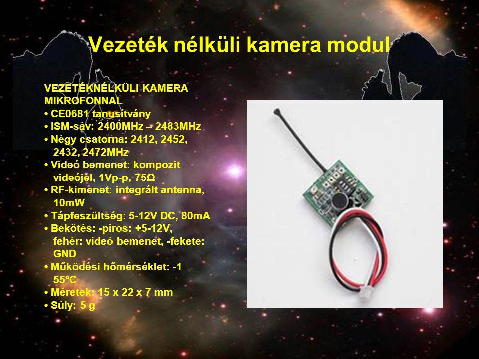 Vezeték nélküli kamera modul