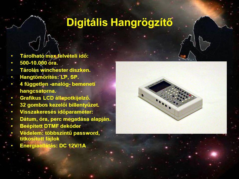 Digitális Hangrögzítő