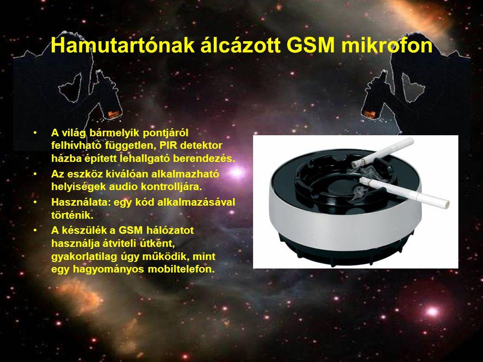 Hamutartónak álcázott GSM mikrofon