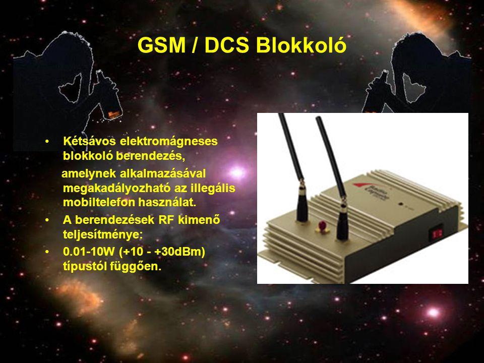 GSM / DCS Blokkoló Kétsávos elektromágneses blokkoló berendezés,