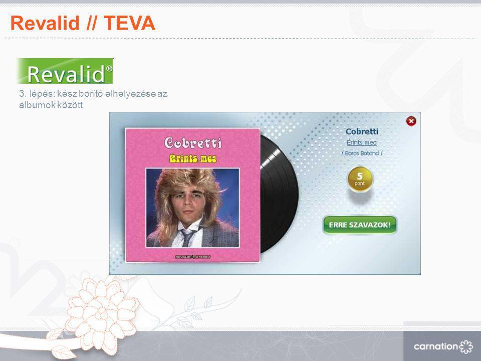 Revalid // TEVA 3. lépés: kész borító elhelyezése az albumok között 23