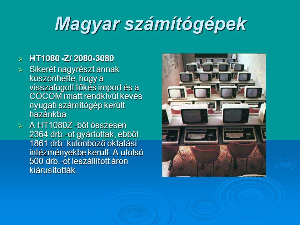 Magyar számítógépek HT1080 -Z/ 2080-3080