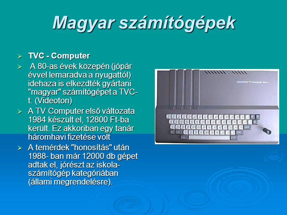 Magyar számítógépek TVC - Computer
