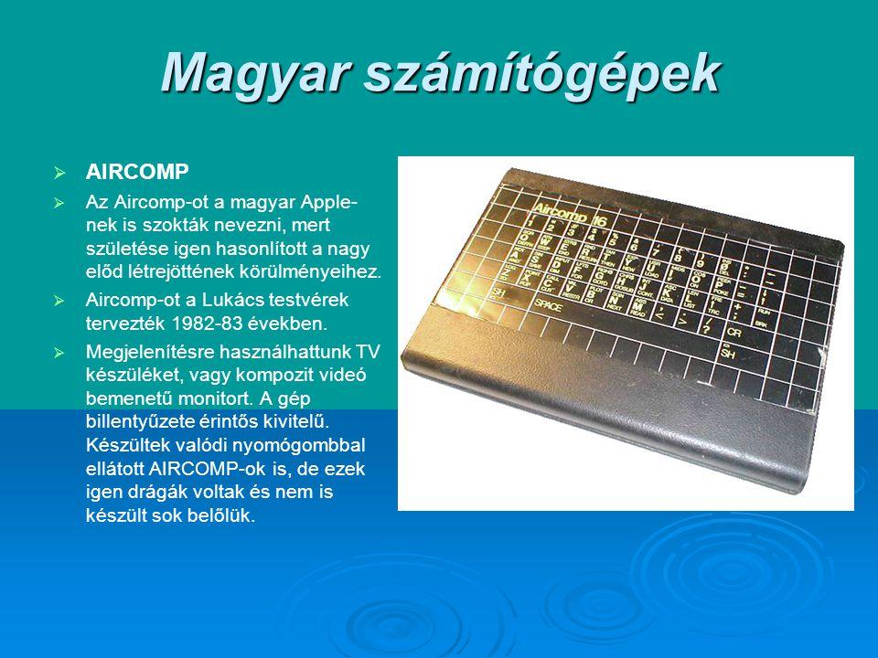 Magyar számítógépek AIRCOMP