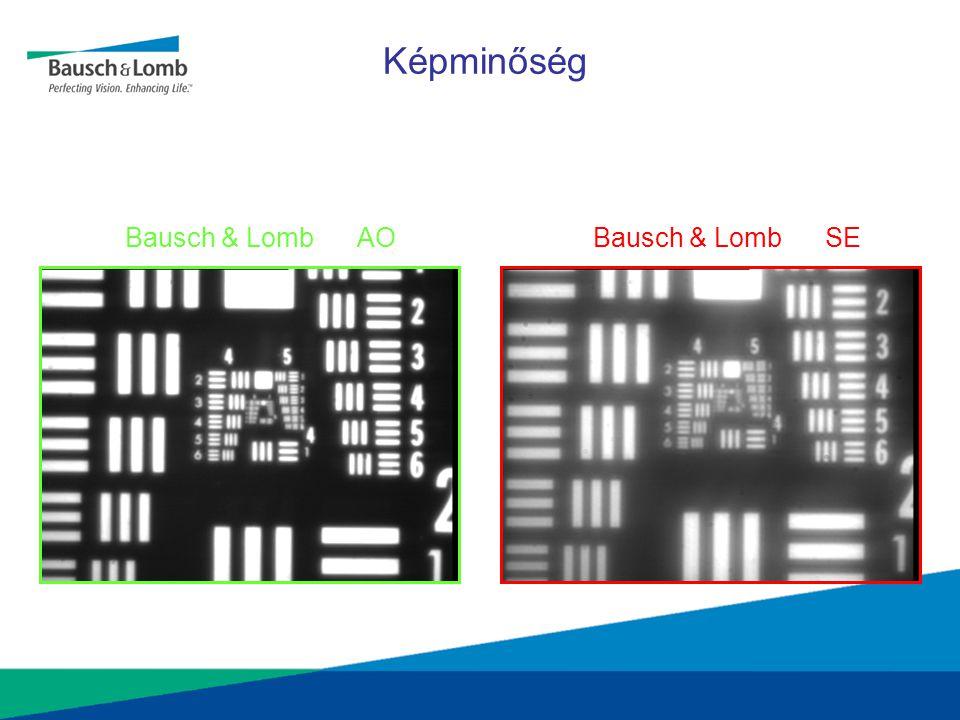Képminőség Bausch & Lomb AO Bausch & Lomb SE