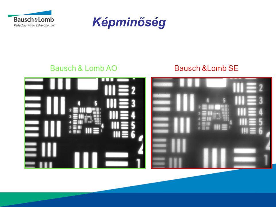 Képminőség Bausch & Lomb AO Bausch &Lomb SE