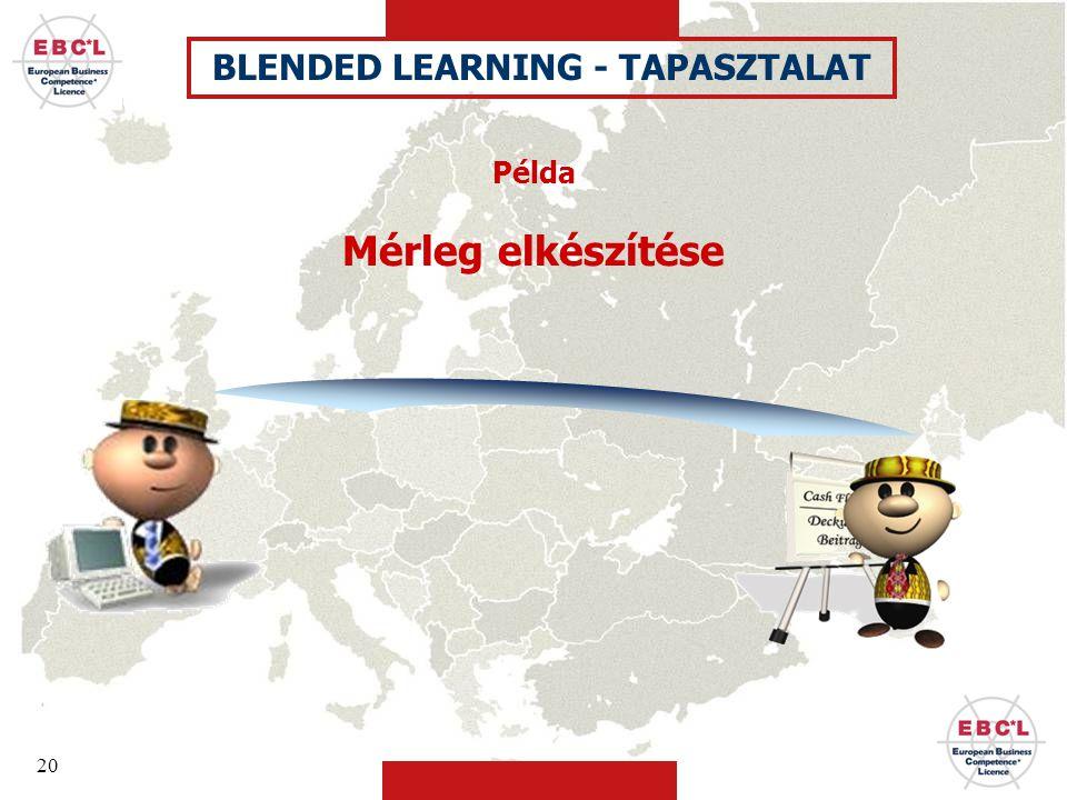 BLENDED LEARNING - TAPASZTALAT