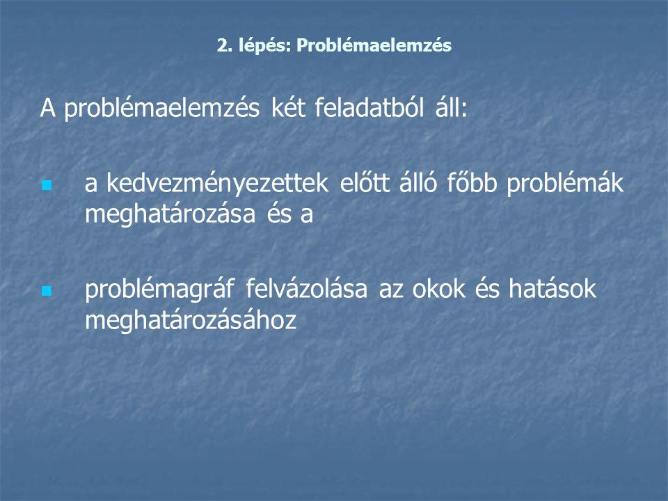 2. lépés: Problémaelemzés