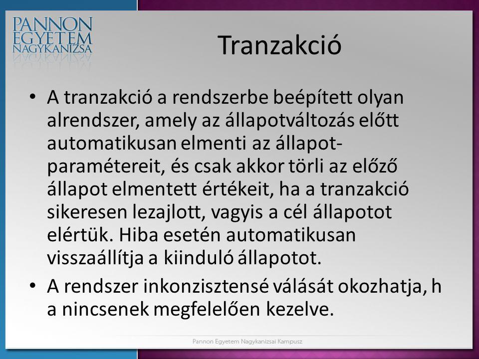 Tranzakció