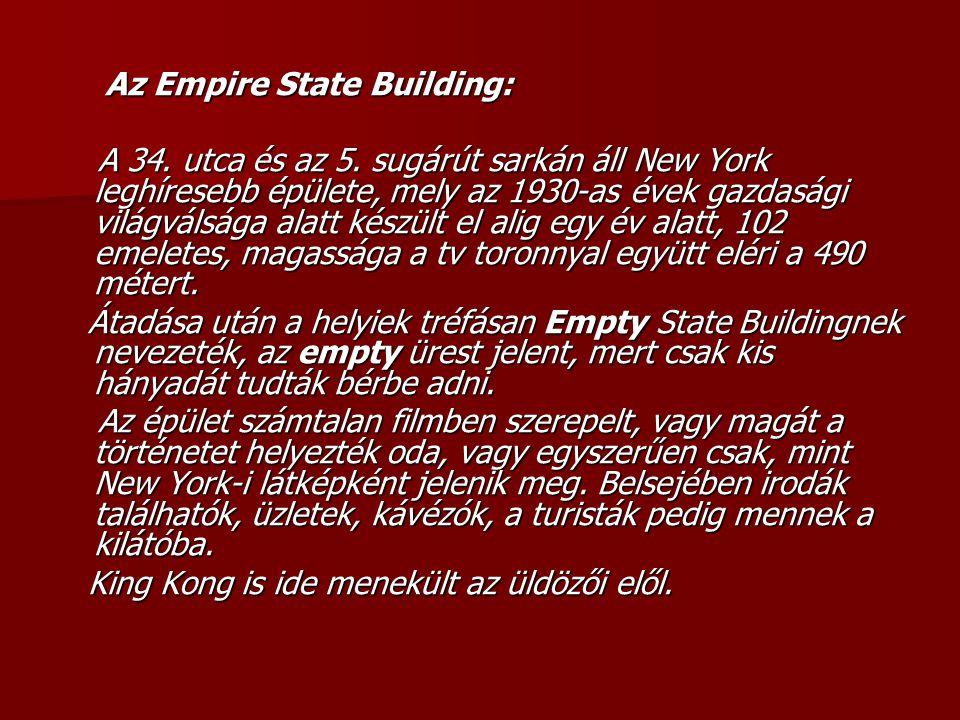Az Empire State Building: