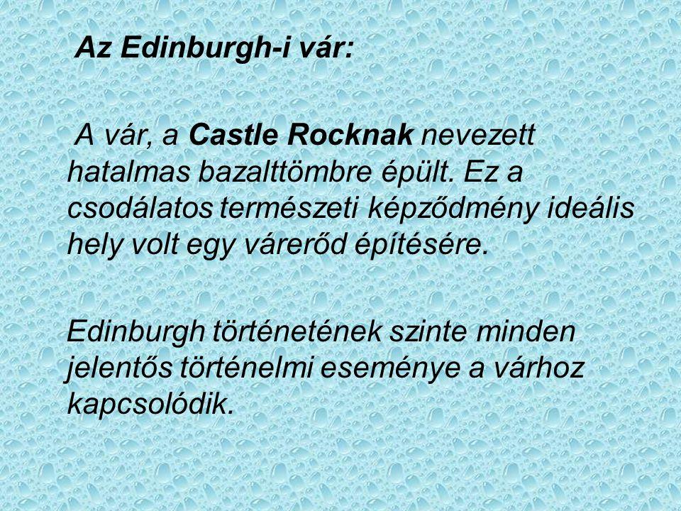 Az Edinburgh-i vár:
