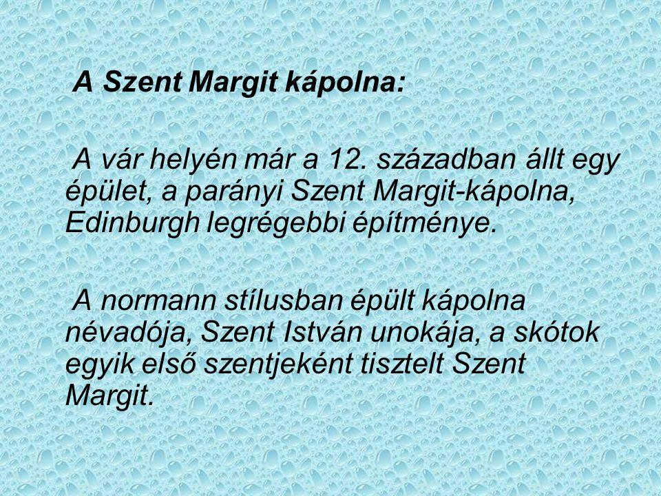 A Szent Margit kápolna: