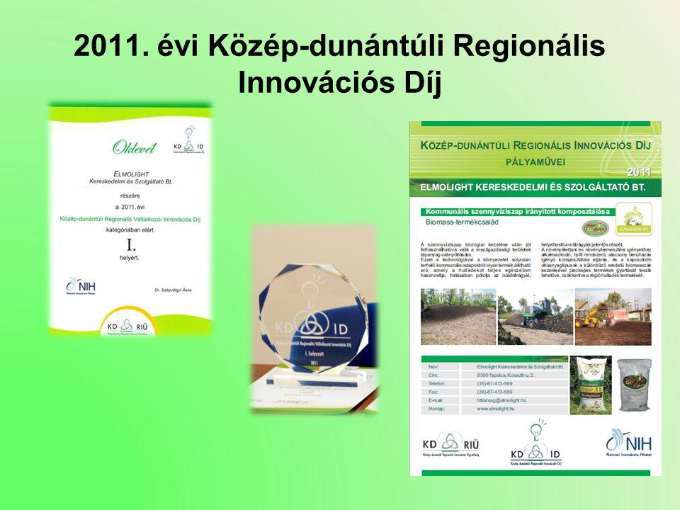 2011. évi Közép-dunántúli Regionális Innovációs Díj