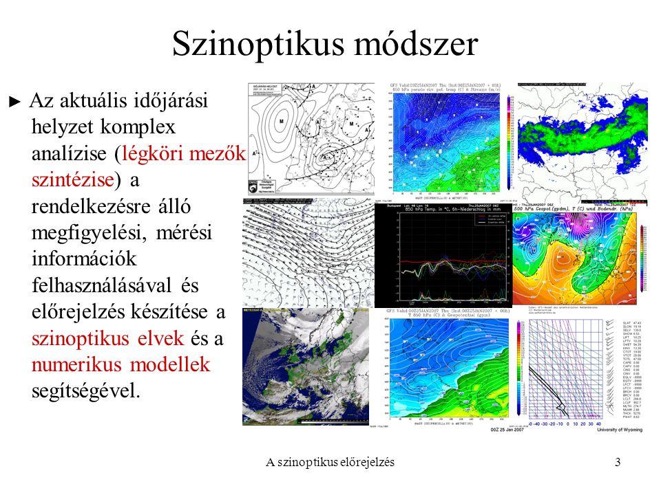 A szinoptikus előrejelzés