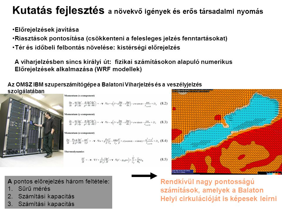 Kutatás fejlesztés a növekvő igények és erős társadalmi nyomás