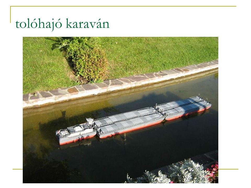 tolóhajó karaván