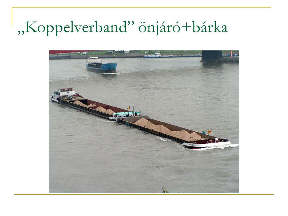 """""""Koppelverband önjáró+bárka"""