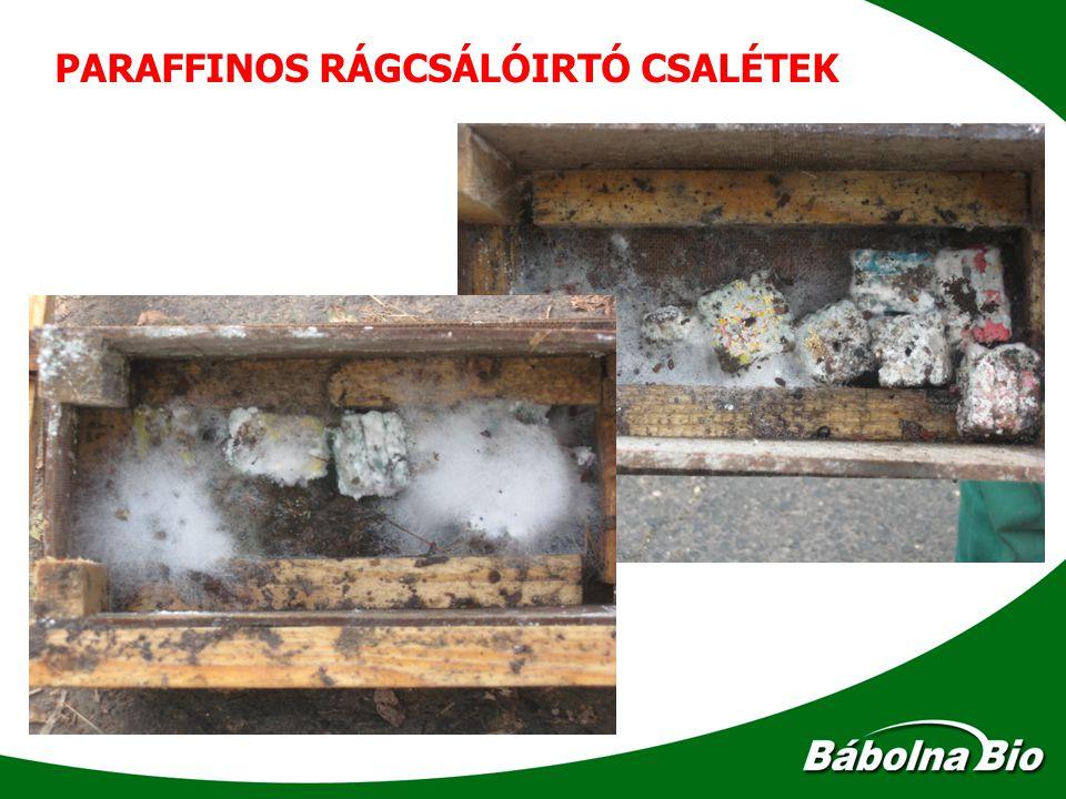 PARAFFINOS RÁGCSÁLÓIRTÓ CSALÉTEK