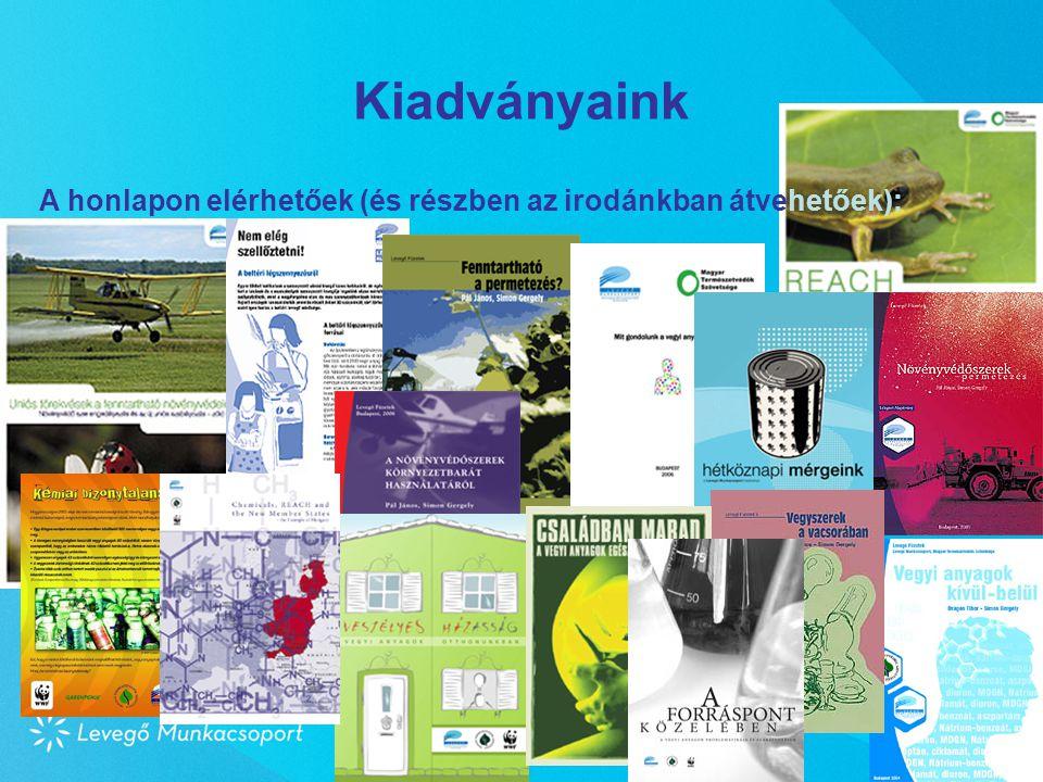 Kiadványaink A honlapon elérhetőek (és részben az irodánkban átvehetőek): Pécs, 2008. március 28.