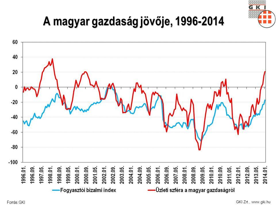 A magyar gazdaság jövője, 1996-2014