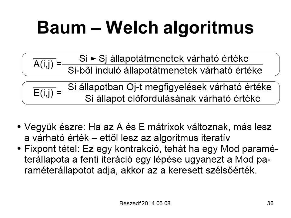 Baum – Welch algoritmus