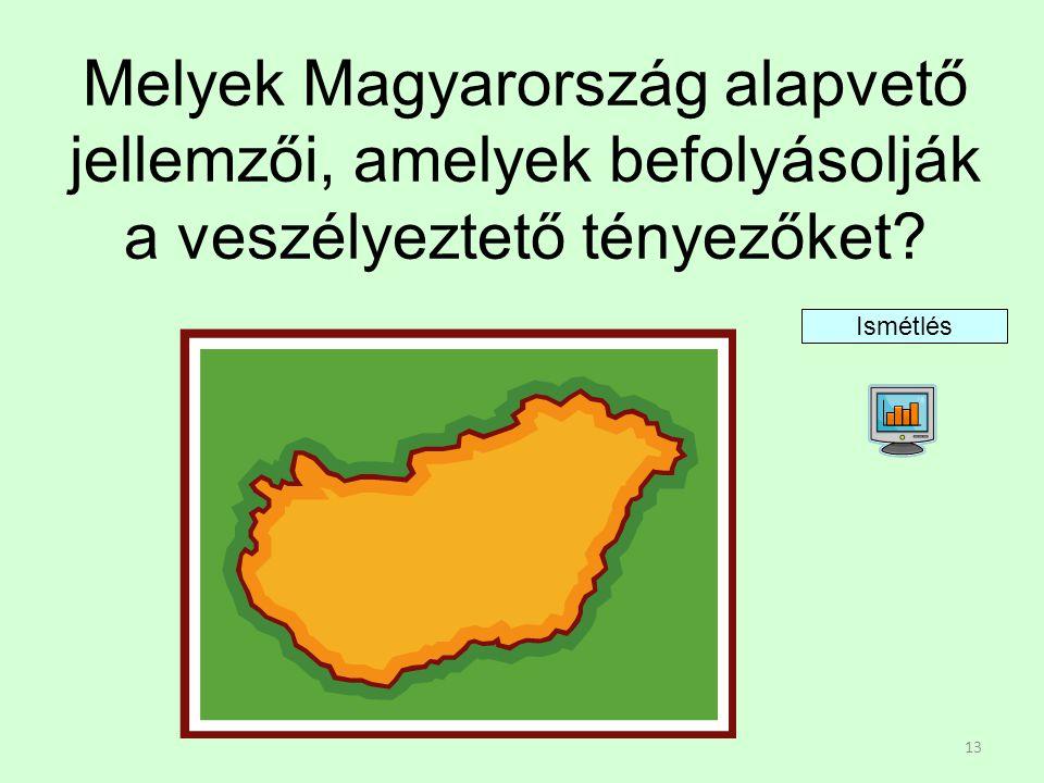 Melyek Magyarország alapvető jellemzői, amelyek befolyásolják a veszélyeztető tényezőket