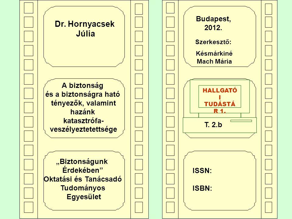 Dr. Hornyacsek Júlia Dr. Hornyacsek Júlia