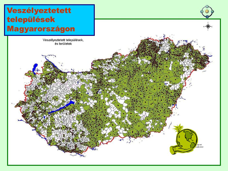 Veszélyeztetett települések Magyarországon