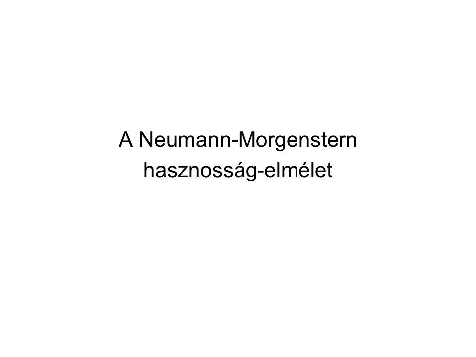 A Neumann-Morgenstern