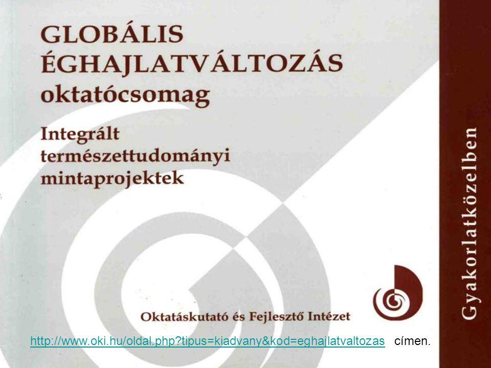 http://www.oki.hu/oldal.php tipus=kiadvany&kod=eghajlatvaltozas címen.