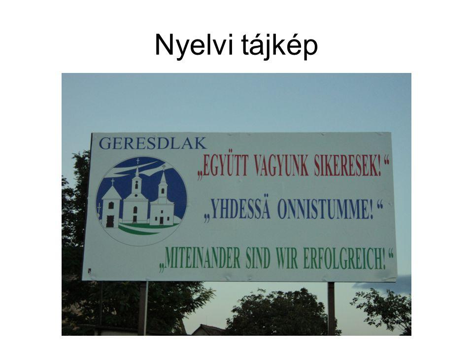 Nyelvi tájkép