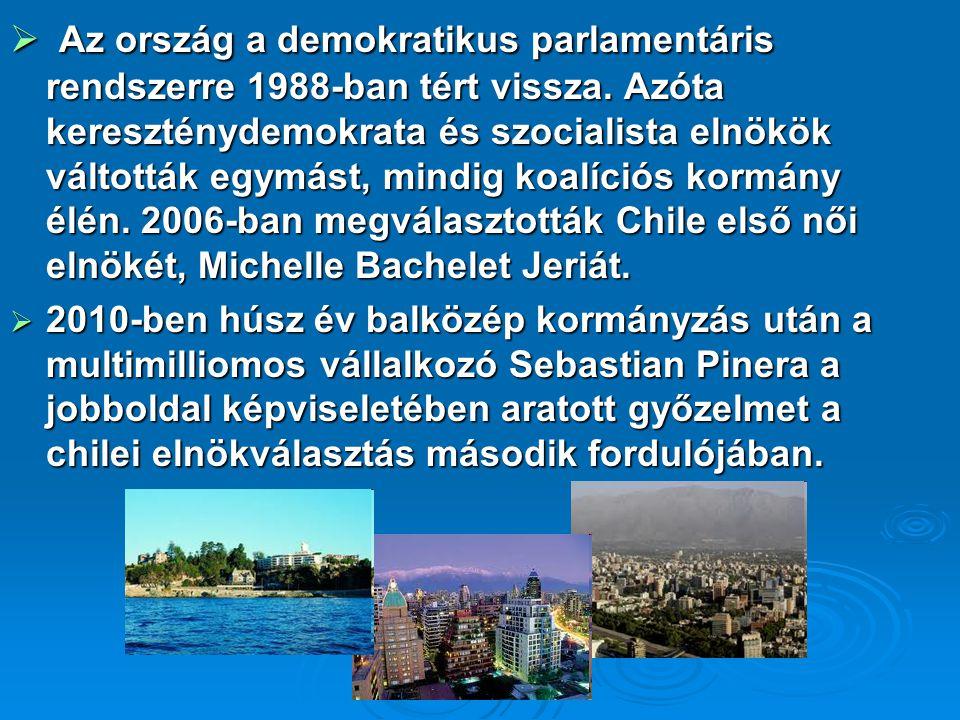 Az ország a demokratikus parlamentáris rendszerre 1988-ban tért vissza