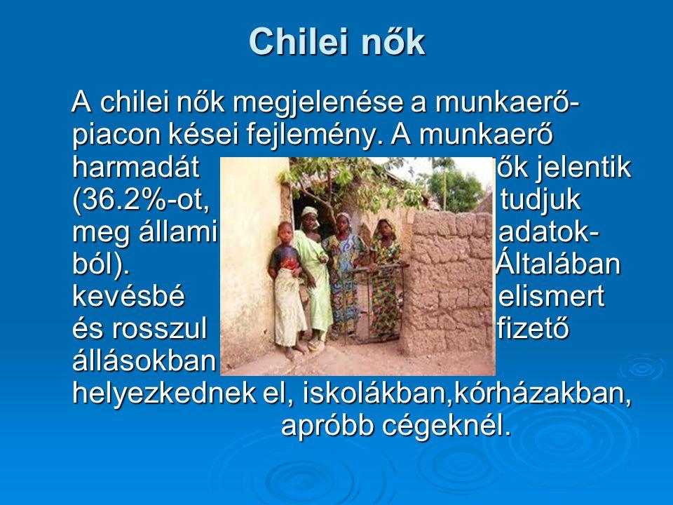 Chilei nők