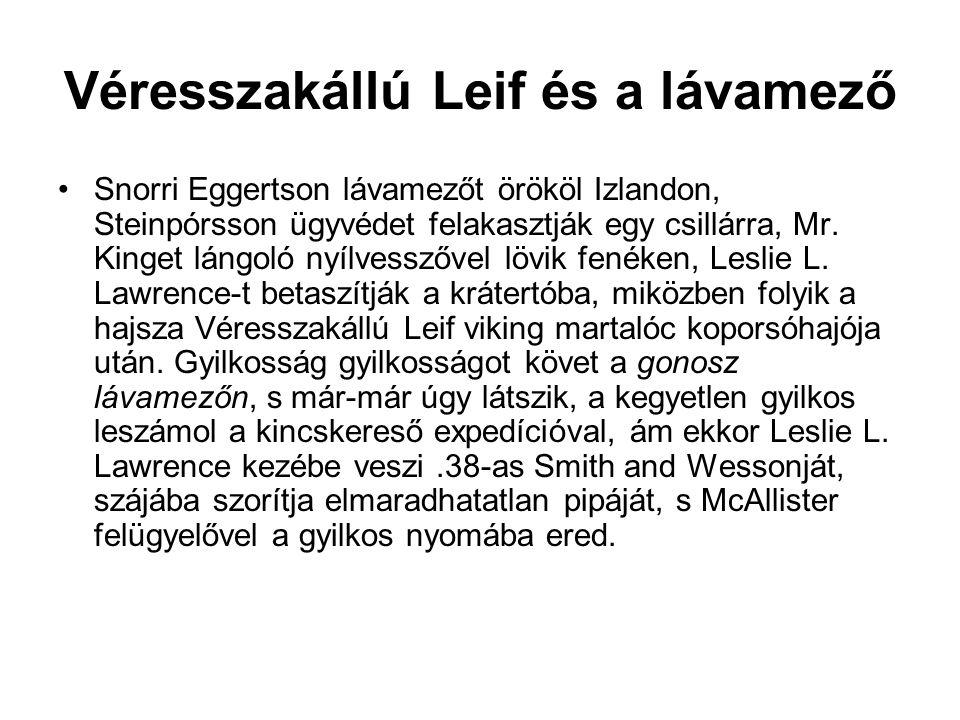 Véresszakállú Leif és a lávamező