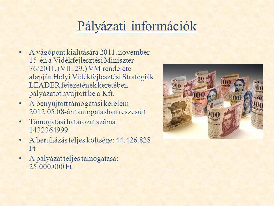 Pályázati információk