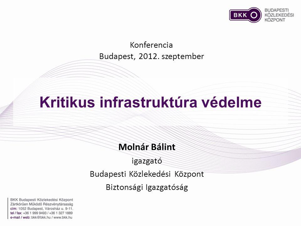 Kritikus infrastruktúra védelme
