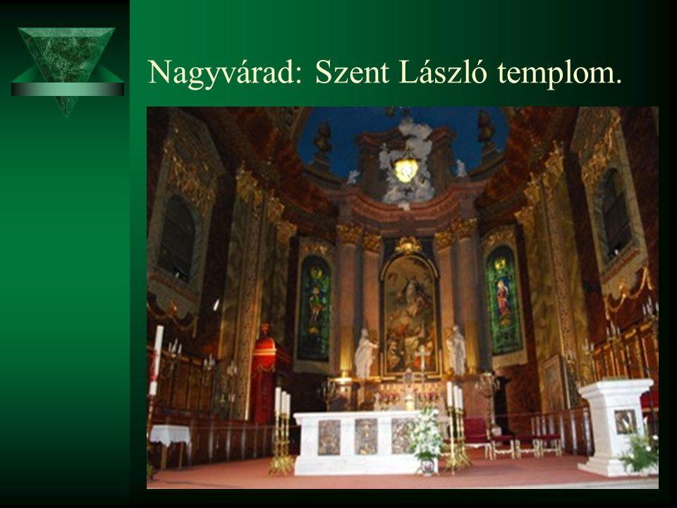 Nagyvárad: Szent László templom.