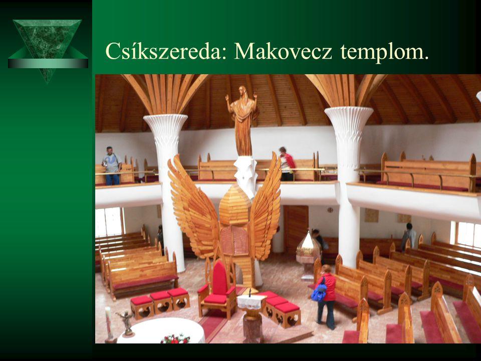 Csíkszereda: Makovecz templom.