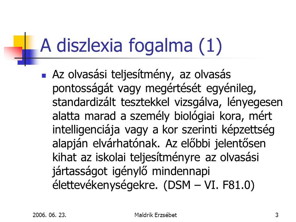 A diszlexia fogalma (1)