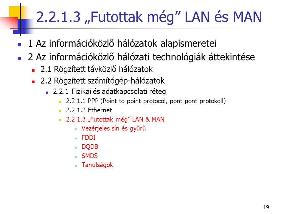"""2.2.1.3 """"Futottak még LAN és MAN"""