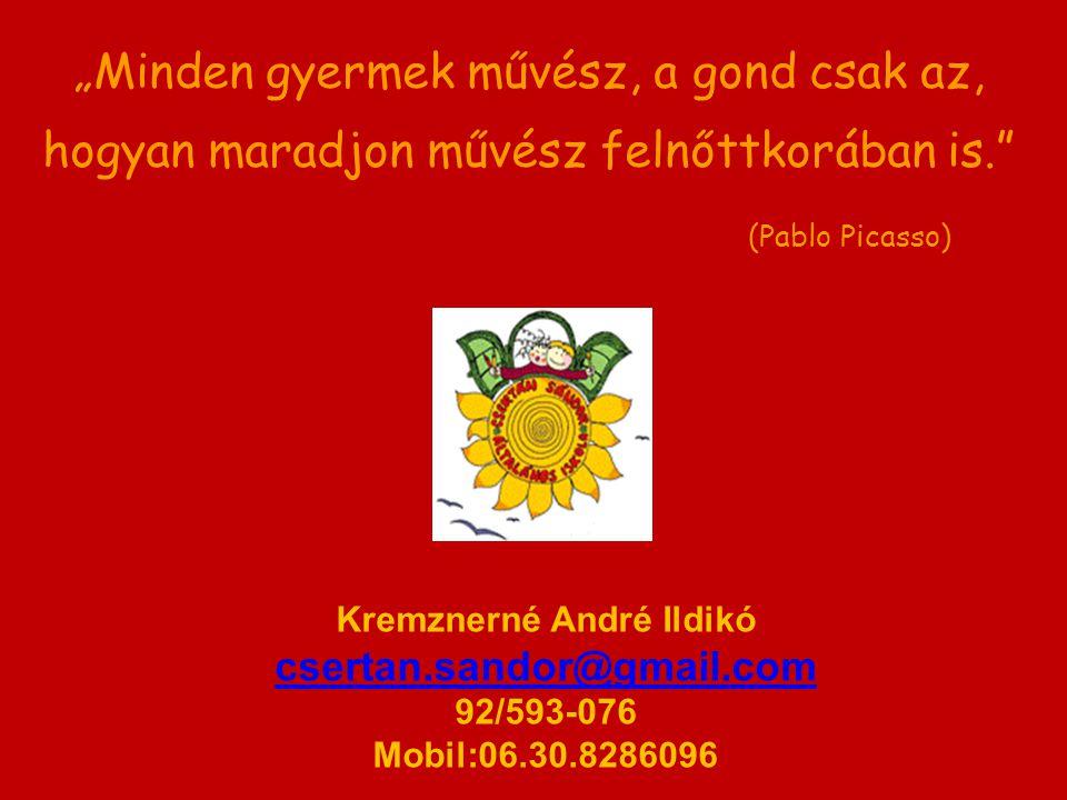 Kremznerné André Ildikó