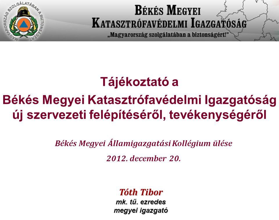 Békés Megyei Államigazgatási Kollégium ülése