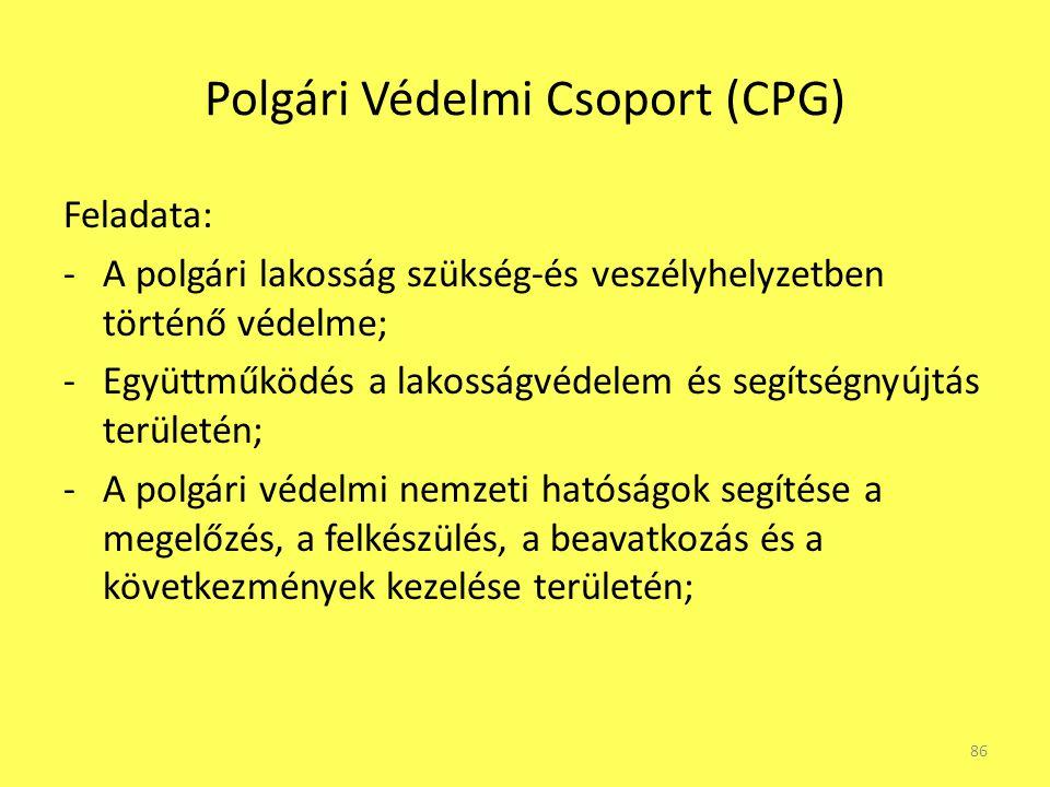 Polgári Védelmi Csoport (CPG)