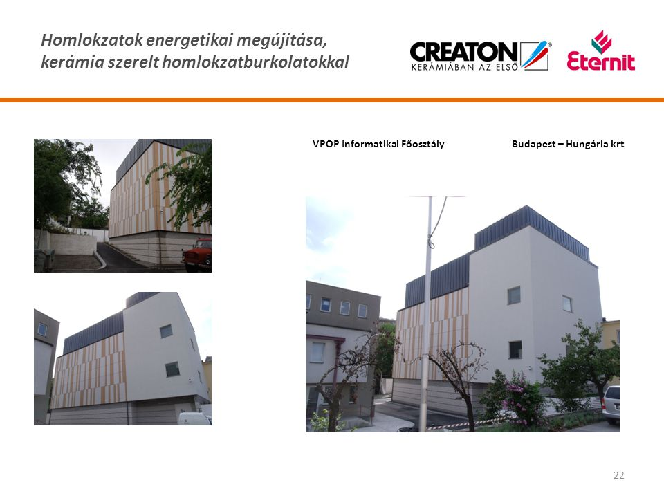 VPOP Informatikai Főosztály Budapest – Hungária krt