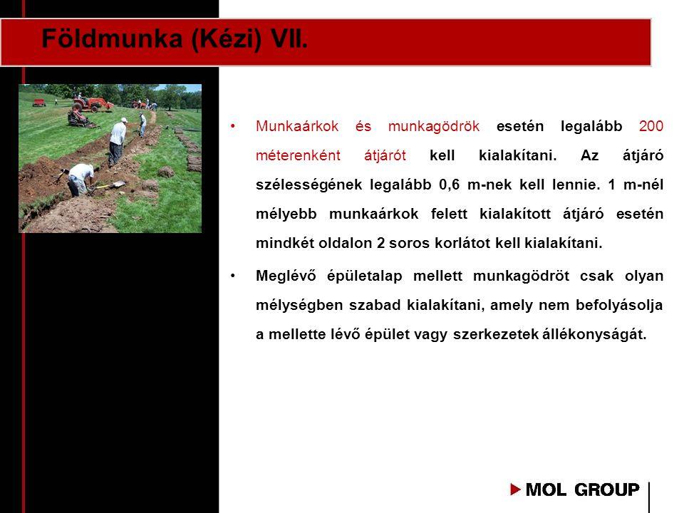 Földmunka (Kézi) VII.