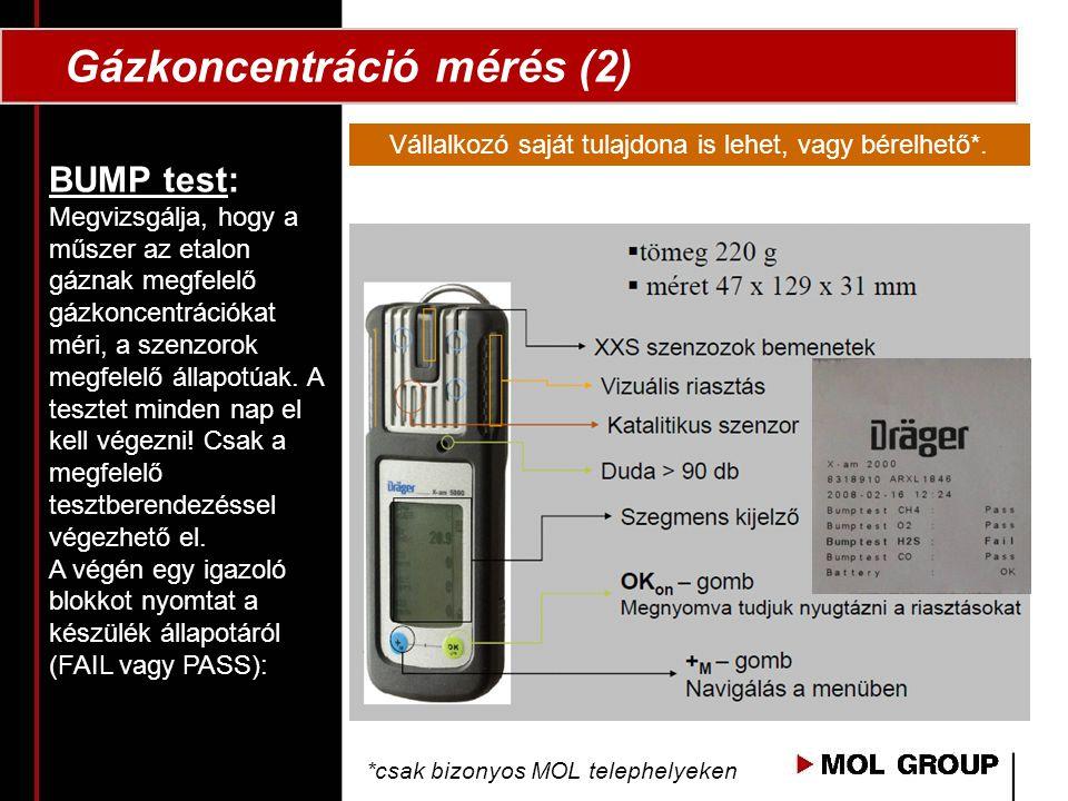 Gázkoncentráció mérés (2)