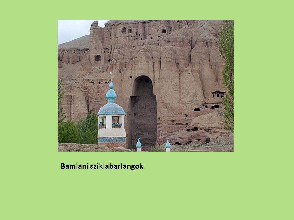Bamiani sziklabarlangok
