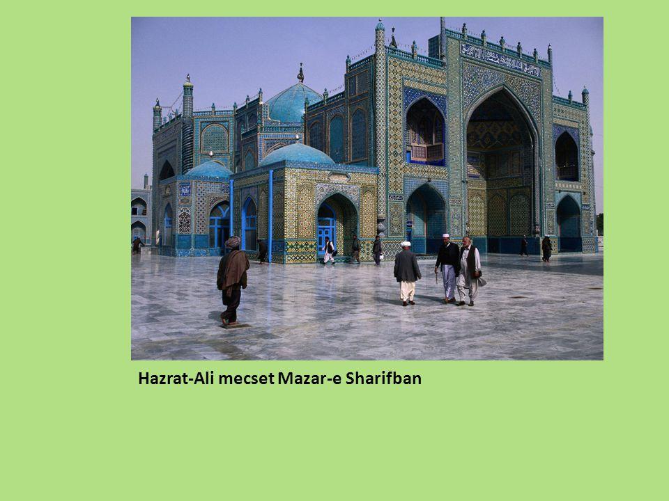 Hazrat-Ali mecset Mazar-e Sharifban