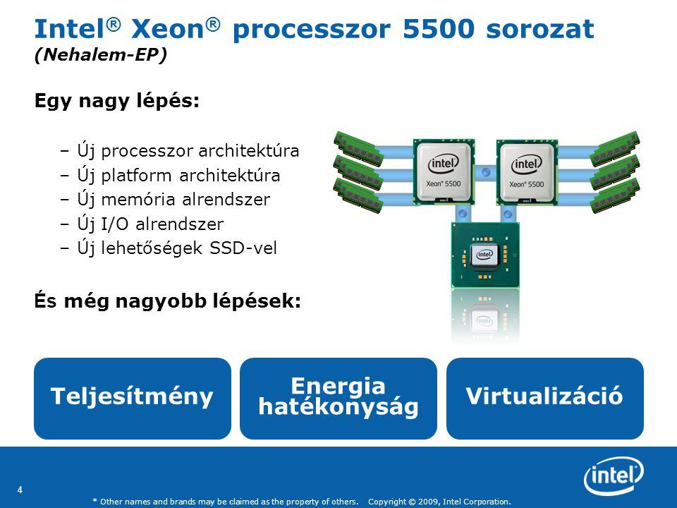 Intel® Xeon® processzor 5500 sorozat (Nehalem-EP)